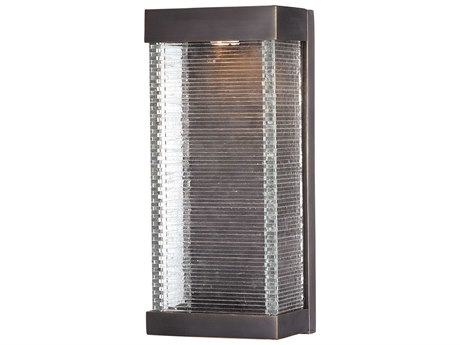 Maxim Lighting Stackhouse VX Bronze  7'' Wide LED Outdoor Wall Light MX55226CLBZ