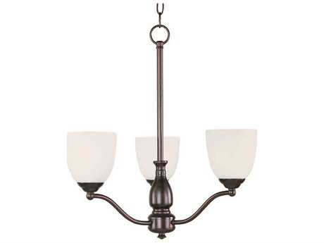 Maxim Lighting Stefan Oil Rubbed Bronze Three-Light 21 Wide Chandelier