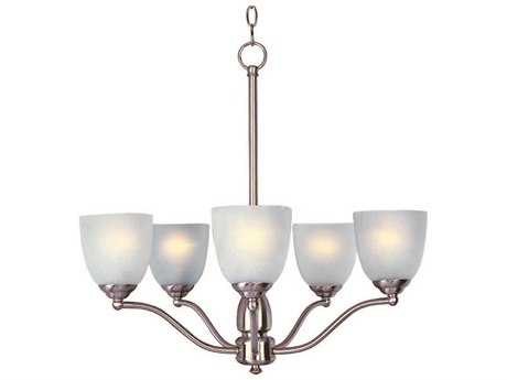 Maxim Lighting Stefan Satin Nickel Five-Light 25 Wide Chandelier
