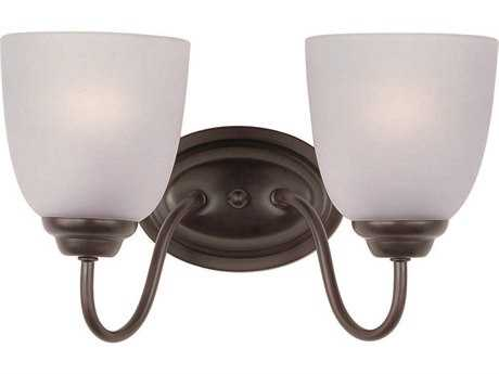 Maxim Lighting Stefan Oil Rubbed Bronze Two-Light Vanity Light