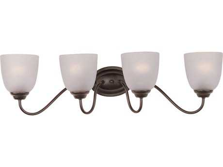 Maxim Lighting Stefan Oil Rubbed Bronze Four-Light Vanity Light
