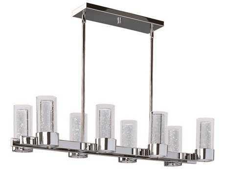 Maxim Lighting Sync Polished Chrome & Clear Glass 16-Light 35'' Long Island Light MX20908CLPC