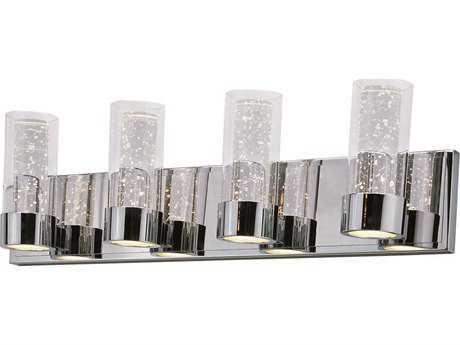 Maxim Lighting Sync Polished Chrome Eight-Light Vanity Light