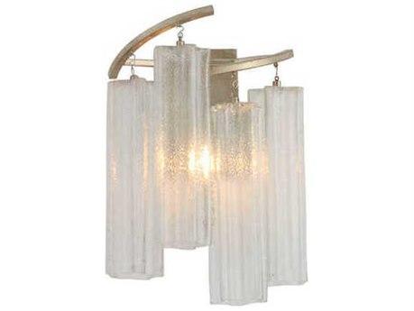 Maxim Lighting Victoria Golden Silver Glass Vanity Light