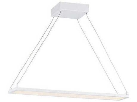 Maxim Lighting Wafer Led White 4'' Wide LED Island Light MX57842WTWT