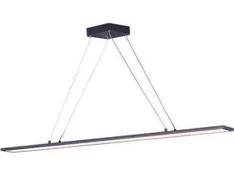 Maxim Lighting Wafer Led Bronze 4'' Wide LED Island Light MX57846WTBZ
