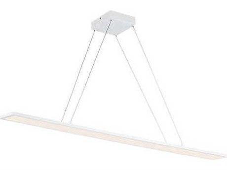 Maxim Lighting Wafer Led White 4'' Wide LED Island Light MX57846WTWT