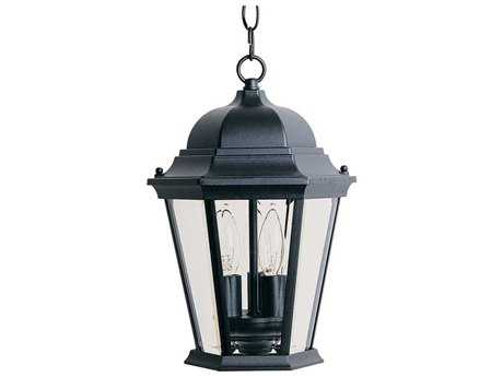 Maxim Lighting Westlake Black Three-Light Outdoor Hanging Light