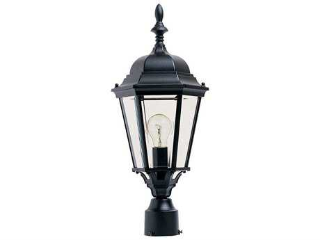 Maxim Lighting Westlake Black Outdoor Post Light MX1005BK