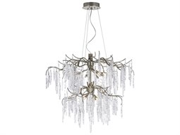 Willow Silver Gold 12-Light 35'' Wide  Chandelier
