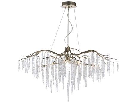 Maxim Lighting Willow Silver Gold Eight-Light 45'' Wide  Chandelier MX26286ICSG