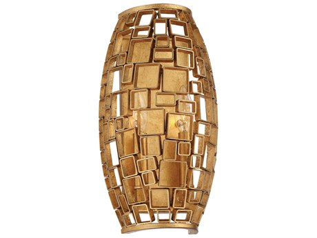 Metropolitan Lighting Abbondanza Halcyon Gold Two-Light Wall Sconce