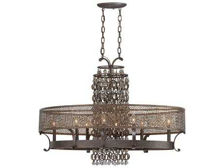 Metropolitan Lighting Ajourer French Bronze Eight-Lights 42'' Long Island Light METN6727258