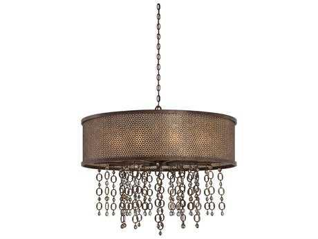 Metropolitan Lighting Ajourer French Bronze Ten-Lights 36'' Wide Pendant Light METN6729258