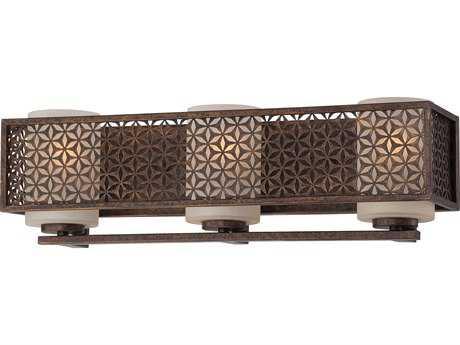 Metropolitan Lighting Ajourer French Bronze Three-Lights Vanity Light METN2723258