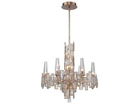 Metropolitan Lighting Bel Mondo Luxor Gold 12-Lights 25'' Wide Chandelier METN6676274