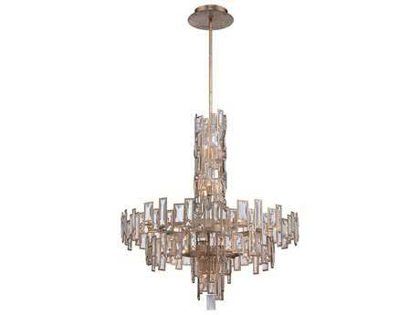 Metropolitan Lighting Bel Mondo Luxor Gold 18-Lights 31'' Wide Chandelier METN6677274