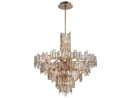 Metropolitan Lighting Bel Mondo Luxor Gold 21-Lights 34'' Wide Chandelier METN6678274