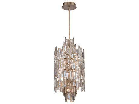 Metropolitan Lighting Bel Mondo Luxor Gold Ten-Lights 14'' Wide Pendant Light METN6673274