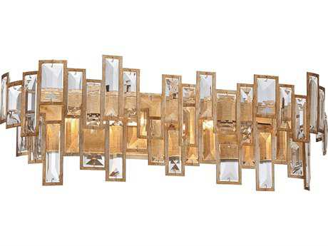 Metropolitan Lighting Bel Mondo Luxor Gold Four-Lights Vanity Light METN2674274
