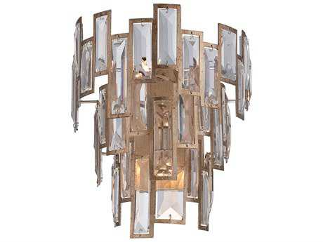 Metropolitan Lighting Bel Mondo Luxor Gold Three-Lights Wall Sconce METN2670274
