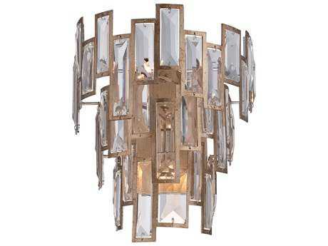 Metropolitan Lighting Bel Mondo Luxor Gold Three-Lights Wall Sconce