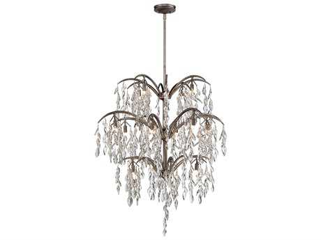 Metropolitan Lighting Bella Flora Silver Mist 16-Lights 38'' Wide Chandelier METN6867278
