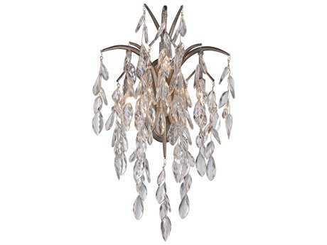 Metropolitan Lighting Bella Flora Silver Mist Three-Lights Wall Sconce METN2860278