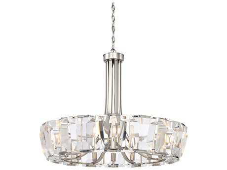 Metropolitan Lighting Castle Aurora Polished Nickel 16-Light 33'' Wide Chandelier METN6986613