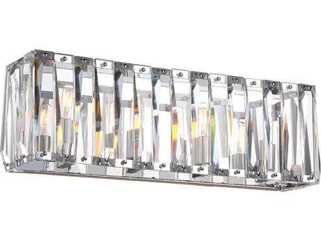 Metropolitan Lighting Coronette Chrome Four-Light Vanity Light METN175477