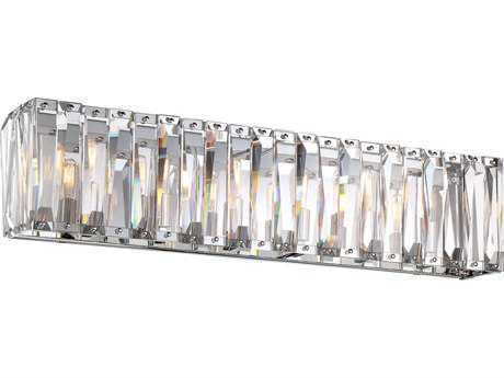 Metropolitan Lighting Coronette Chrome Six-Light Vanity Light METN175677