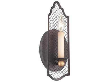 Metropolitan Lighting Cortona French Bronze with Gold Highlight Wall Sconce METN7101258B