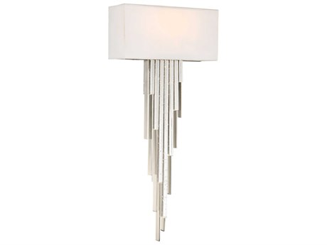 Metropolitan Lighting Crystal Cascade Chrome LED Wall Sconce METN742077L