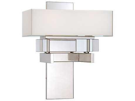 Metropolitan Lighting Eden Roe Polished Nickel Two-Lights Wall Sconce METN6260613