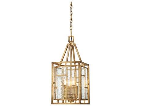 Metropolitan Lighting Edgemont Park Pandora Gold Leaf Four-Light 10'' Wide Mini Pendant Light METN6473293