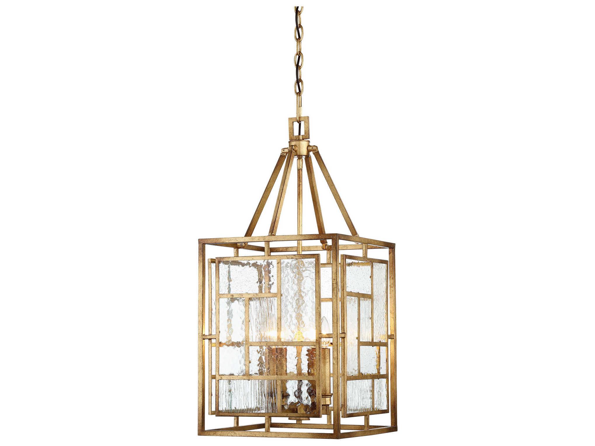 Progress Lighting Riverside Collection 4 Light Heirloom: Metropolitan Lighting Edgemont Park Pandora Gold Leaf Four