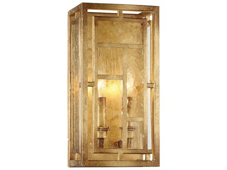 Metropolitan Lighting Edgemont Park Pandora Gold Leaf Two-Light Wall Sconce METN6472293