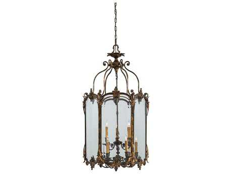 Metropolitan Lighting Foyer Antique Bronze Patina Nine-Lights 26'' Wide Pendant Light METN2335OXB