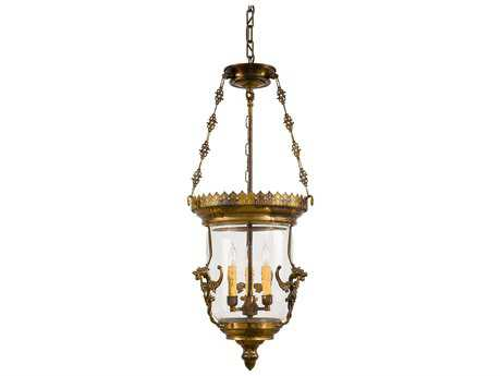 Metropolitan Lighting Foyer Antique Bronze Patina Three-Lights 14'' Wide Pendant Light METN2336OXB