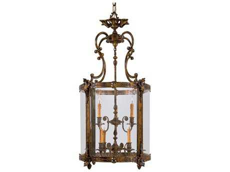 Metropolitan Lighting Foyer Antique Bronze Patina Nine-Lights 25'' Wide Pendant Light METN2342
