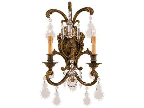 Metropolitan Lighting Foyer Antique Bronze Two-Lights Wall Sconce METN9200