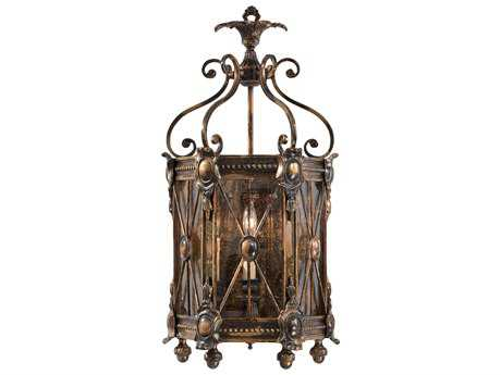 Metropolitan Lighting Foyer Bronze Oxide Three-Lights Wall Sconce METN9300
