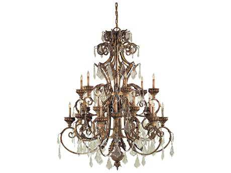 Metropolitan Lighting Padova 24-Lights 51'' Wide Grand Chandelier METN6229363