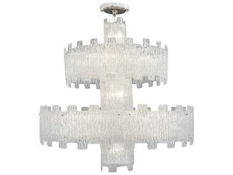 Metropolitan Lighting Clear Crystal 25-Light 47'' Wide Grand Chandelier METN950080