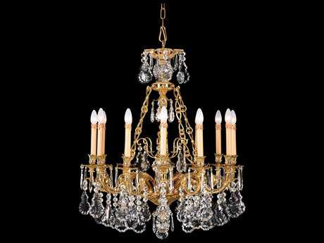 Metropolitan Lighting French Gold 12-Lights 31.5'' Wide Grand Chandelier METN9700