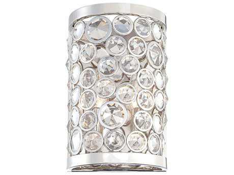 Metropolitan Lighting Magique Polished Nickel Two-Lights Wall Sconce METN2750613