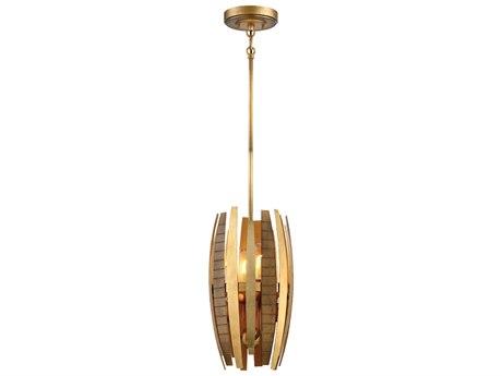 Metropolitan Lighting Manitou Ardor Gold Four-Light 10'' Wide Mini Pendant Light METN7834659