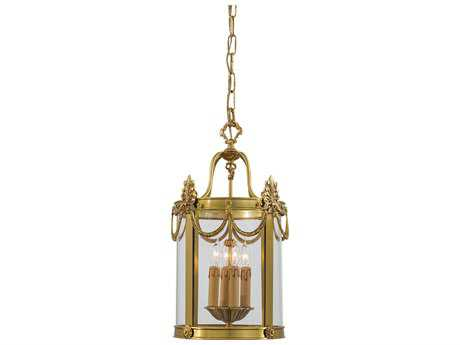 Metropolitan Lighting Dore Gold Four-Lights 12'' Wide Pendant Light METN850704