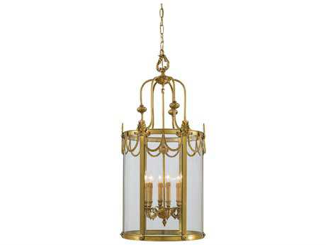 Metropolitan Lighting Dore Gold Six-Lights 19'' Wide Pendant Light METN850906
