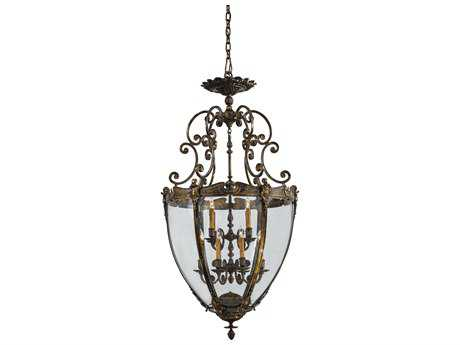 Metropolitan Lighting French Gold 12-Lights 30'' Wide Pendant Light METN9204